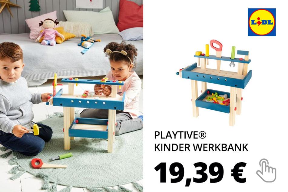 PLAYTIVE® Kinder Werkbank