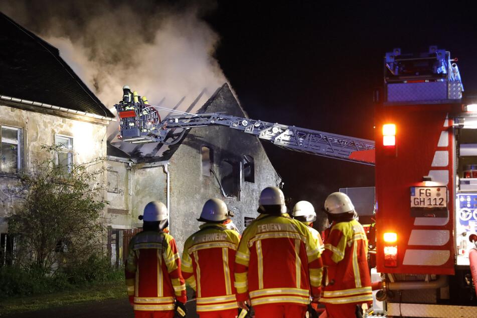 Die Feuerwehr war mit mehr als 50 Kameraden im Einsatz.