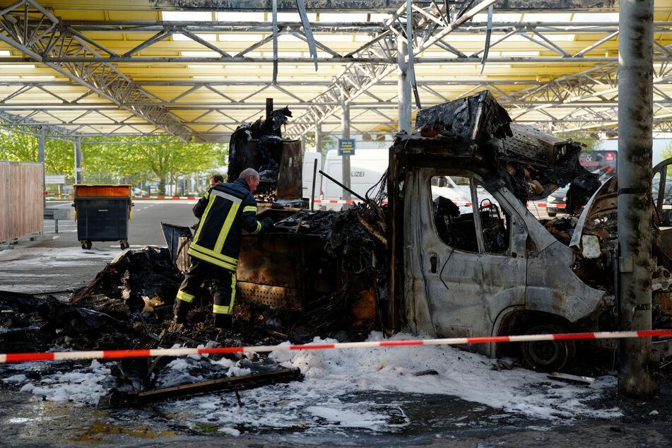 Am 3. Mai war der Reibekuchen-Transporter ausgebrannt.