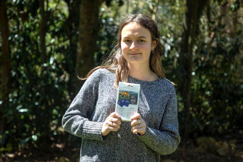 Zoe Roths bekanntes Foto ging um die Welt und ist heute somit auch als Sammelkarte in einem humorigen Kartenspiel enthalten.