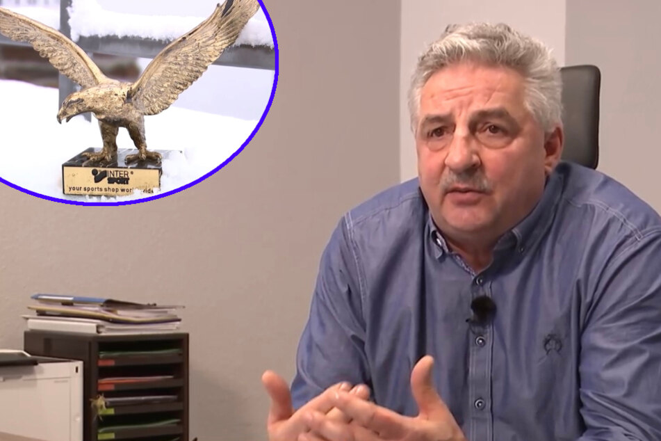 Vierschanzentournee-Trophäe für guten Zweck versteigert: Deckerts Adler geht für über 12.000 Euro weg