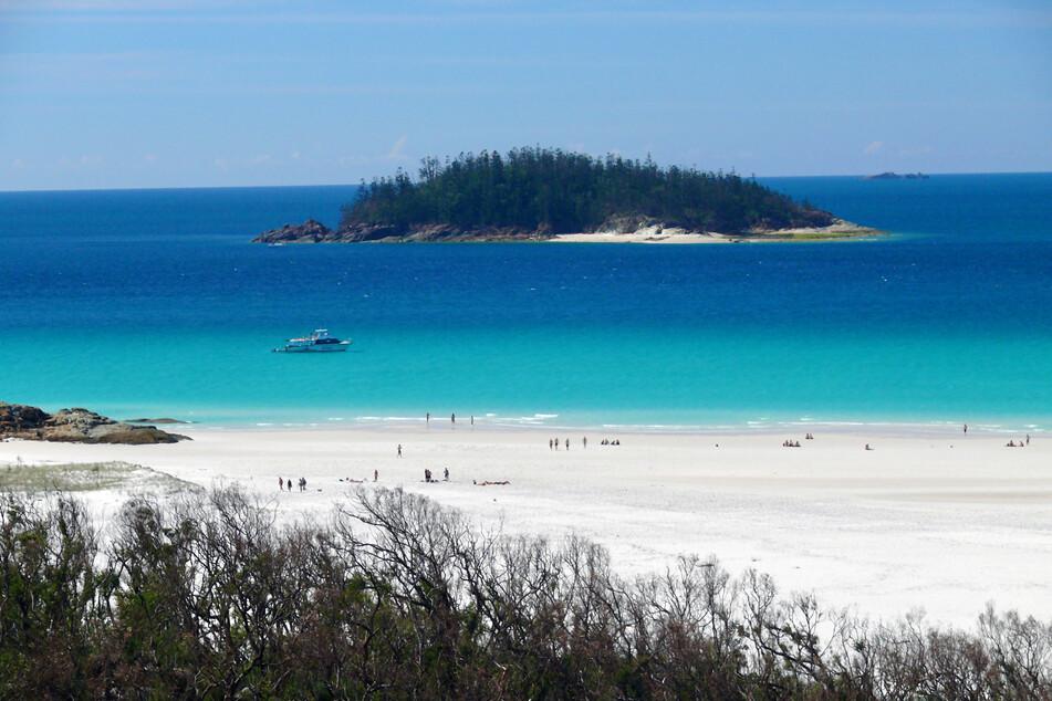 Die Nummer 1! Der Whiteheaven Beach in Australien.