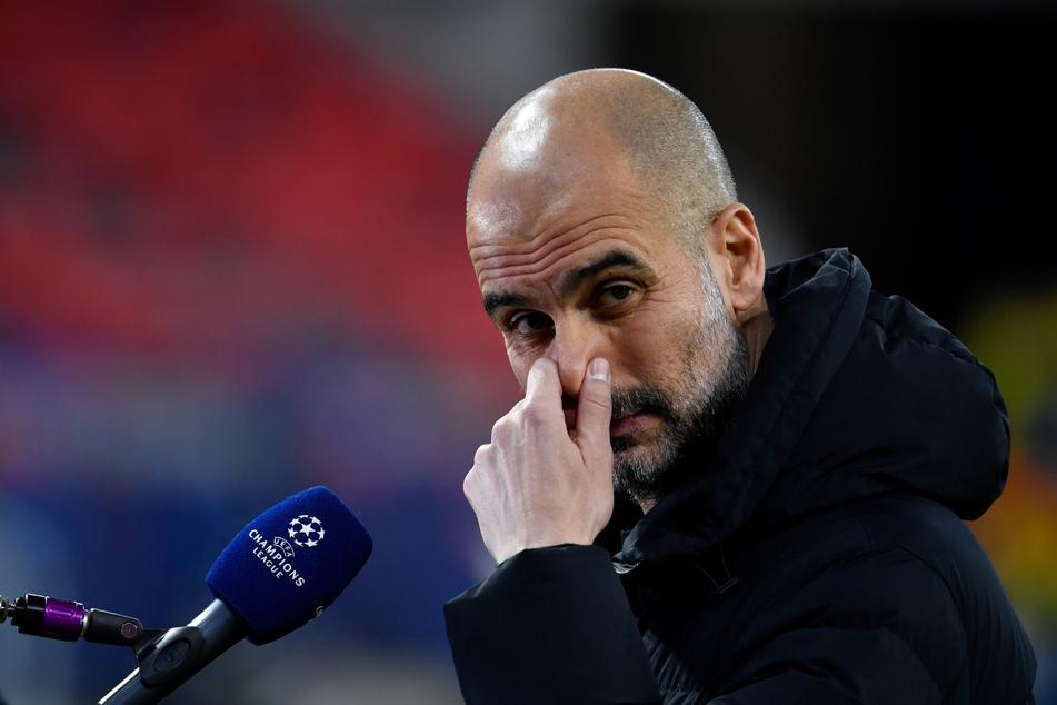 Geld stinkt nicht, oder? Pep Guardiola (50) rückte die Berater-Millionen des BVB vor dem Champions-League-Spiel in den Fokus.