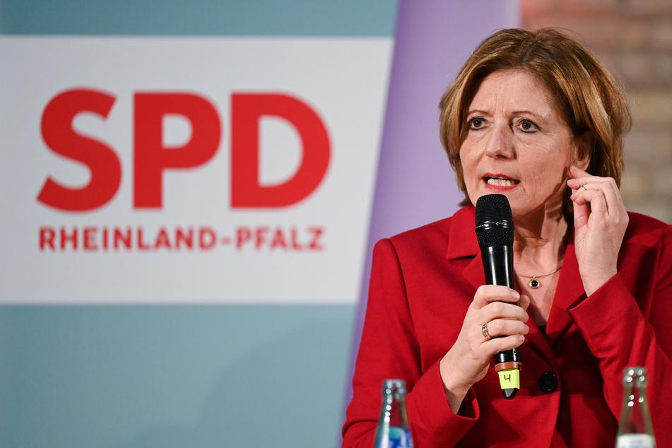 Die rheinland-pfälzische Ministerpräsidentin Malu Dreyer (60, SPD).