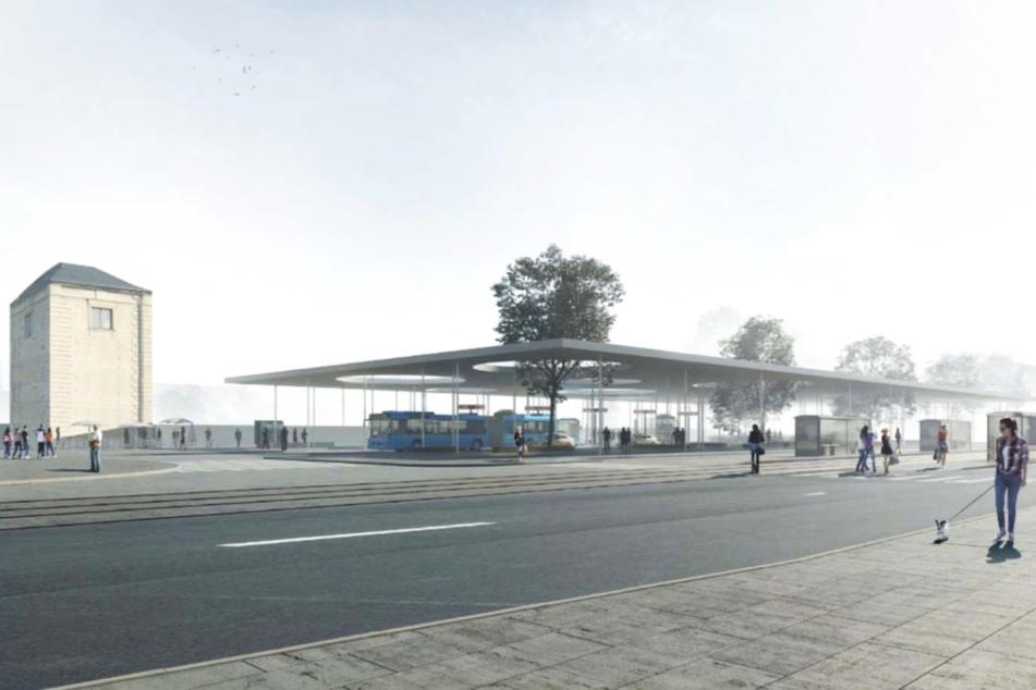 Chemnitz: Kein Geld! Umzugspläne für den Chemnitzer Busbahnhof sind futsch
