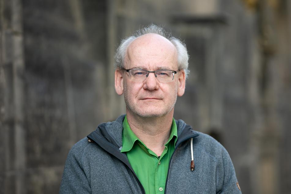 Dissidenten-Stadtrat Johannes Lichdi (57, Grüne) will, dass die Stadt möglichst schnell den Weg für eine Bebauung ebnet.
