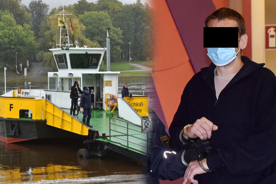 Maurer klaute wertlose Tickets in Pillnitzer Autofähre: Knast!