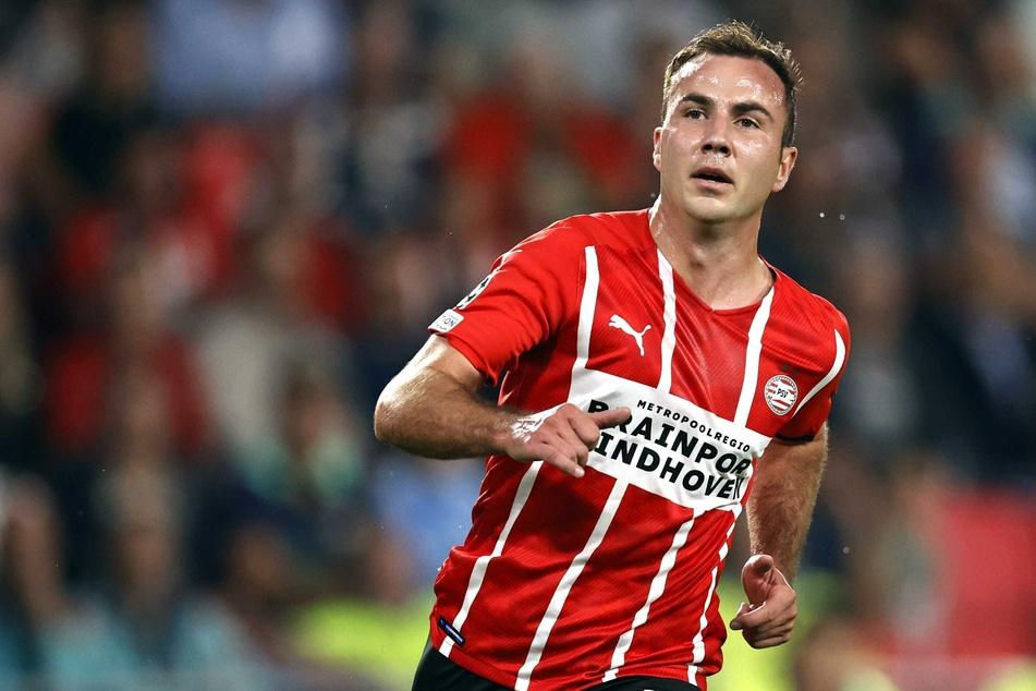 Glücklich in den Niederlanden: Mario Götze (29) bleibt der PSV Eindhoven treu und verlängerte seinen Vertrag.