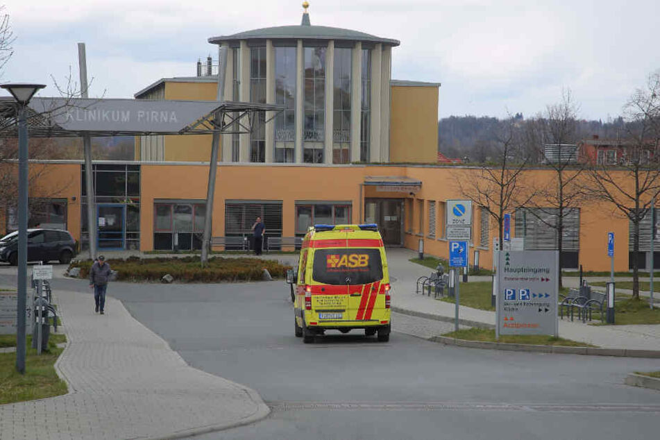 Im Klinikum Pirna unterstützt tschechisches Personal die deutschen Kollegen.
