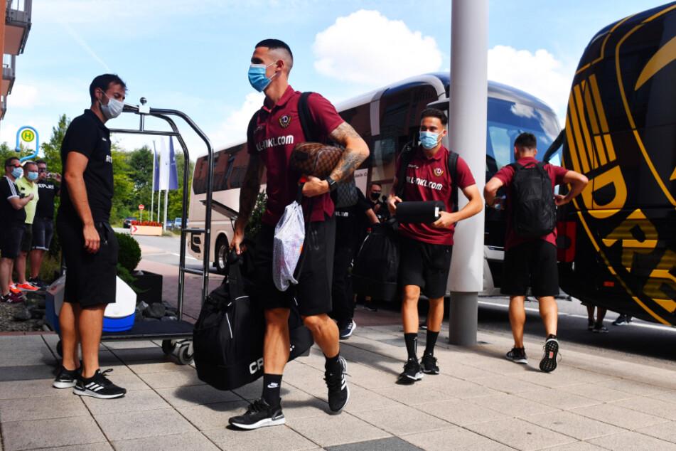 Dynamo Dresden ist wohlbehalten im Trainingslager in Heiligenstadt angekommen.