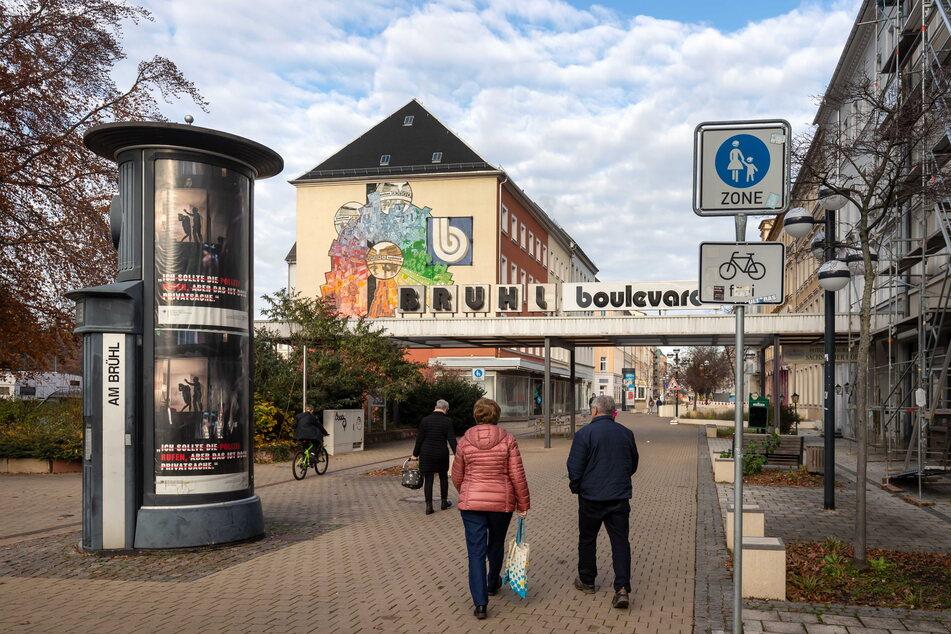 Masken-Wirrwarr auf Chemnitzer Brühl: Keine Kontrollen, keine Schilder