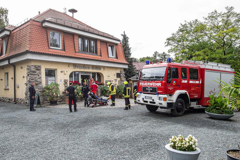 Neben Feuerwehr war auch der Rettungsdienst und die Polizei im Einsatz.