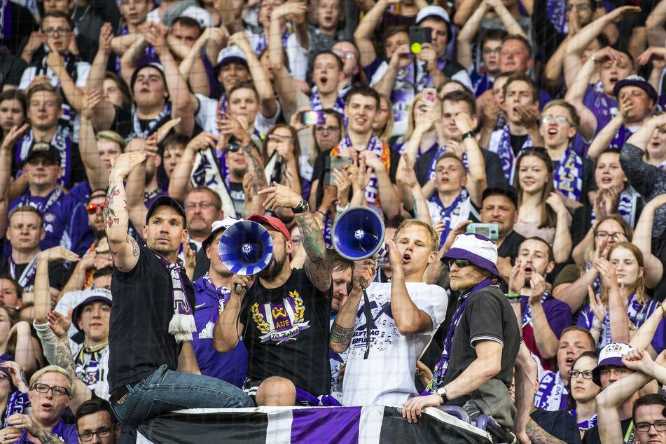 Nach jetzigem Stand dürfen die Fans von Profivereinen wie Aue nicht zu den Heimspielen.