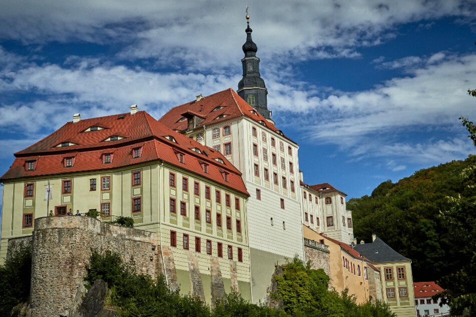 Schloss Weesenstein lädt ein.
