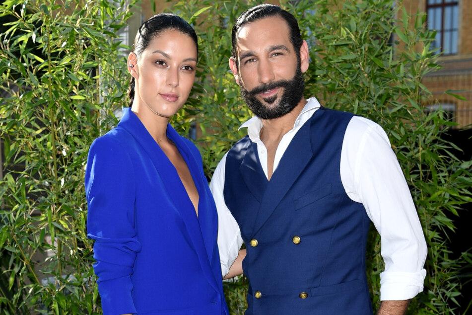 Rebecca Mir (28) und ihr Mann Massimo Sinató (39) sehen sich Gerüchten um eine Schwangerschaft ausgesetzt.