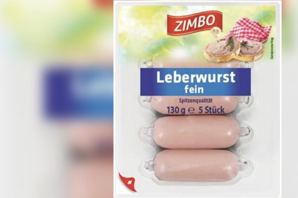 """Kaufland ruft die """"Zimbo Leberwurst fein"""" zurück."""
