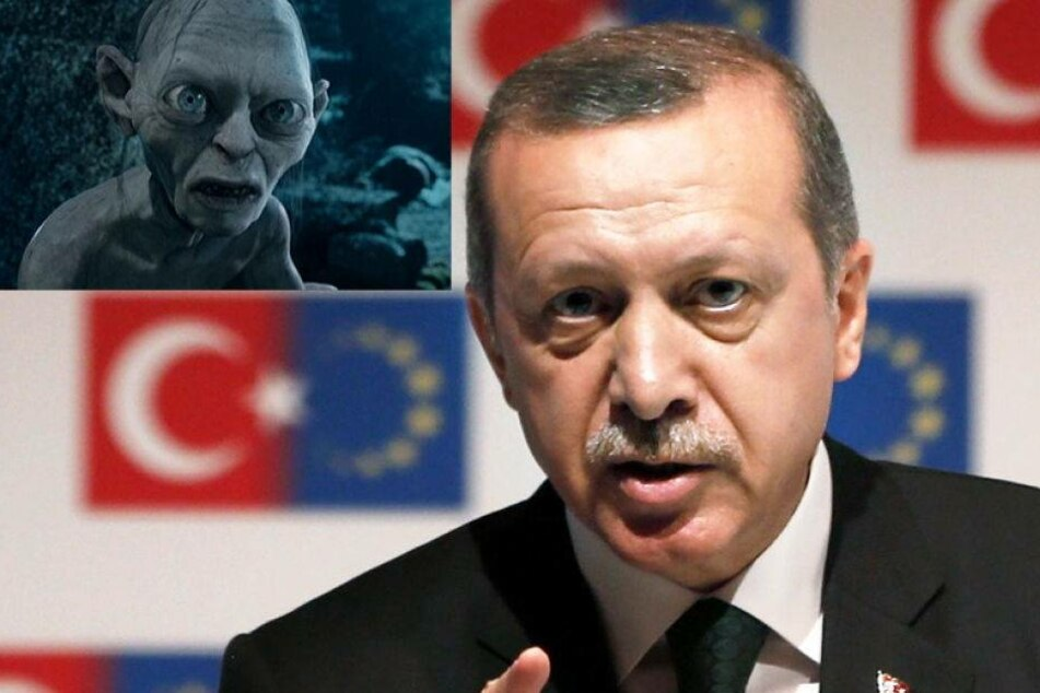 Kritiker vergleicht Erdogan mit Gollum und wird hart bestraft