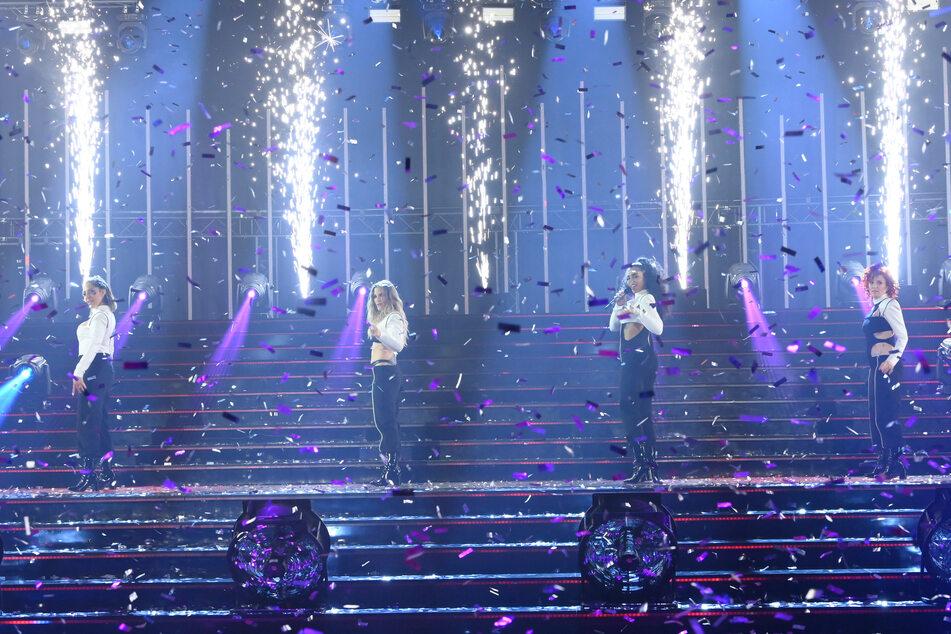 """Die erfolgreichste deutsche Girlband gab ihren Ohrwurm """"Daylight In Your Eyes"""" zum Besten."""