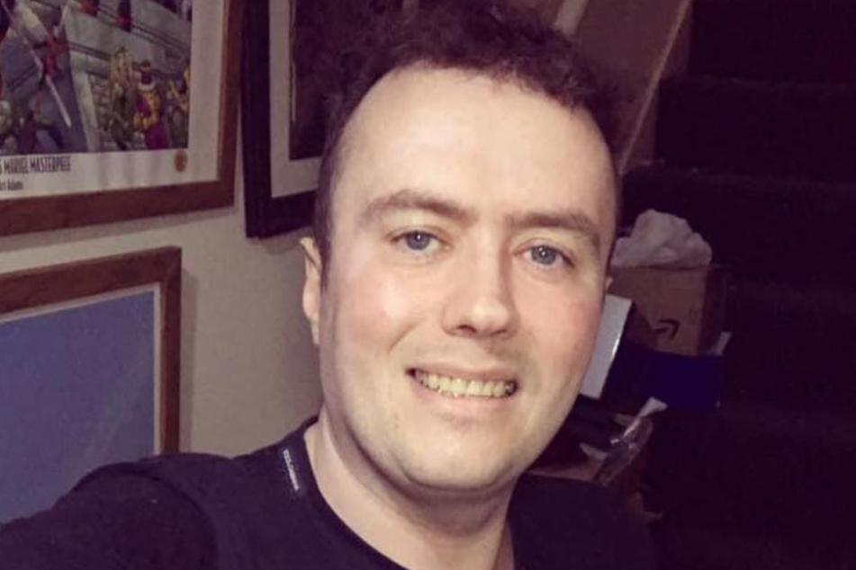 Stephen Haddock (40) auf einem Facebook-Selfie.