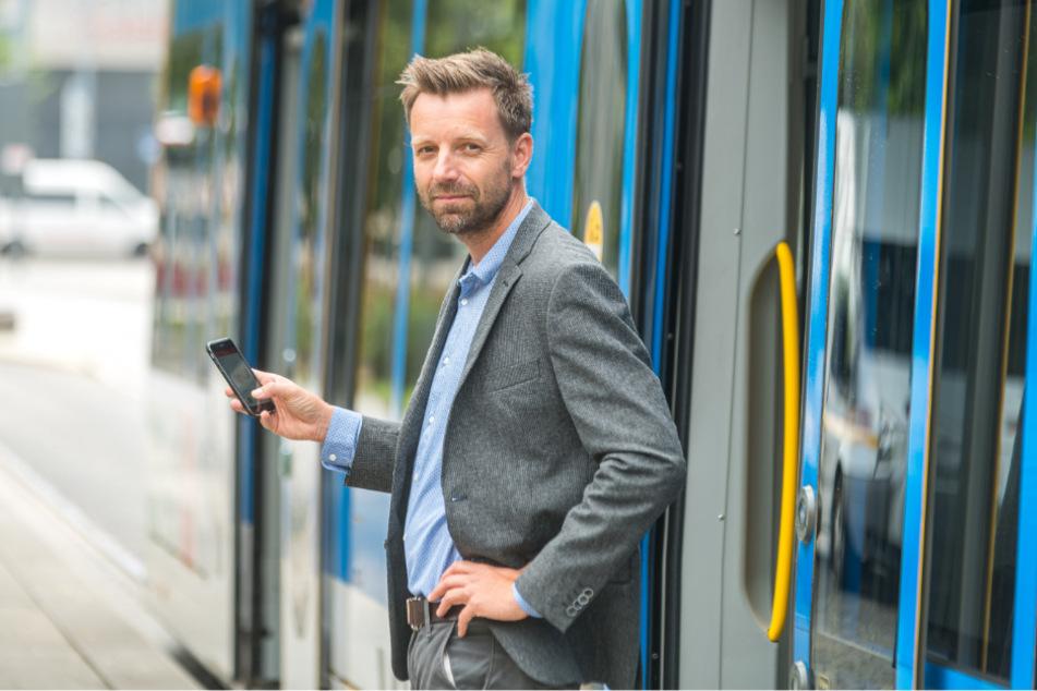 Die App von Reto Schmid (44) ist die erfolgreichste ihrer Art weltweit, startet nun auch in Dresden.