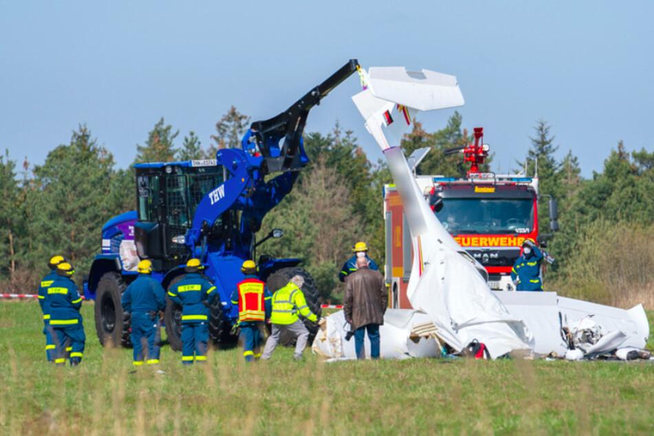 Zwei Tote bei Flugzeugabsturz: Leichen geborgen und identifiziert