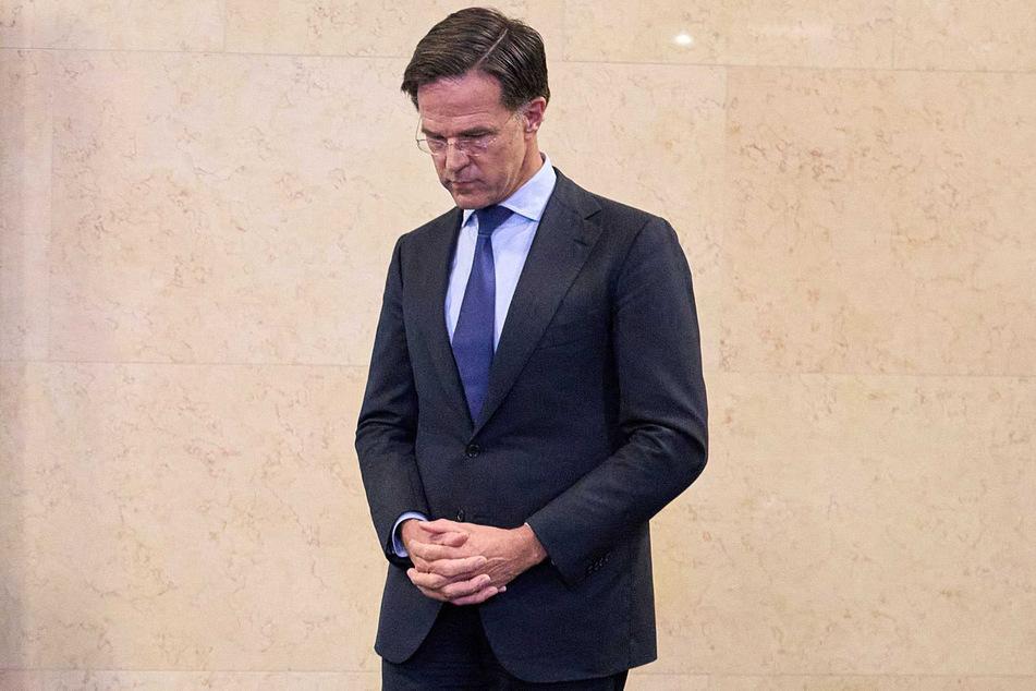 Hollands Regierungschef Mark Rutte (54).