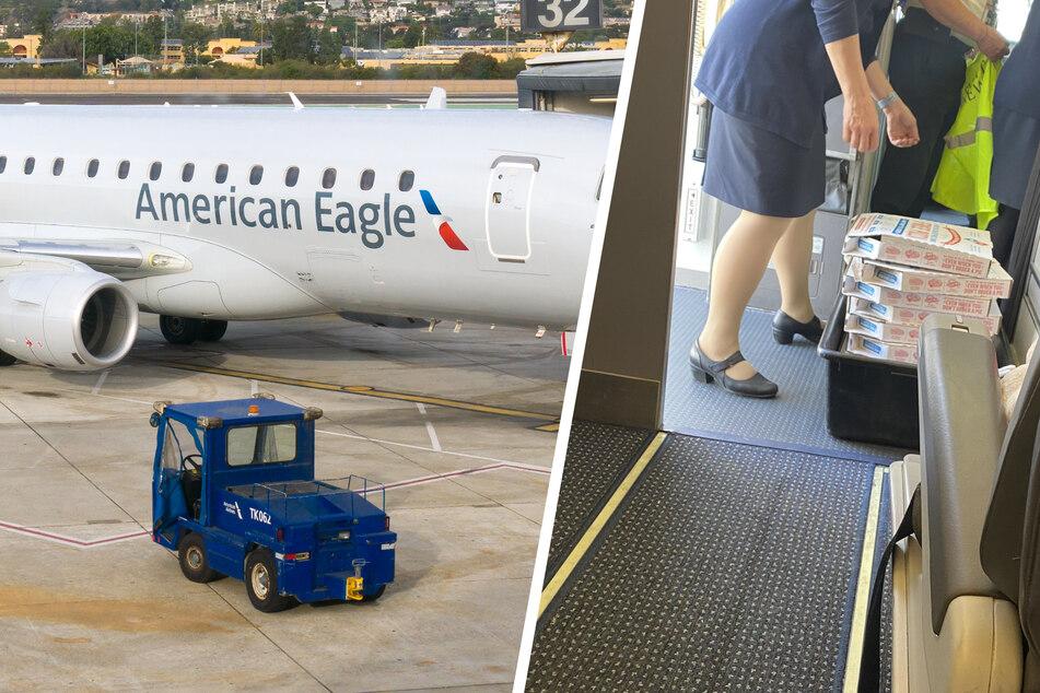 Flugzeug muss aufgrund von schlechtem Wetter zwischenlanden: Pilot kommt auf super Idee