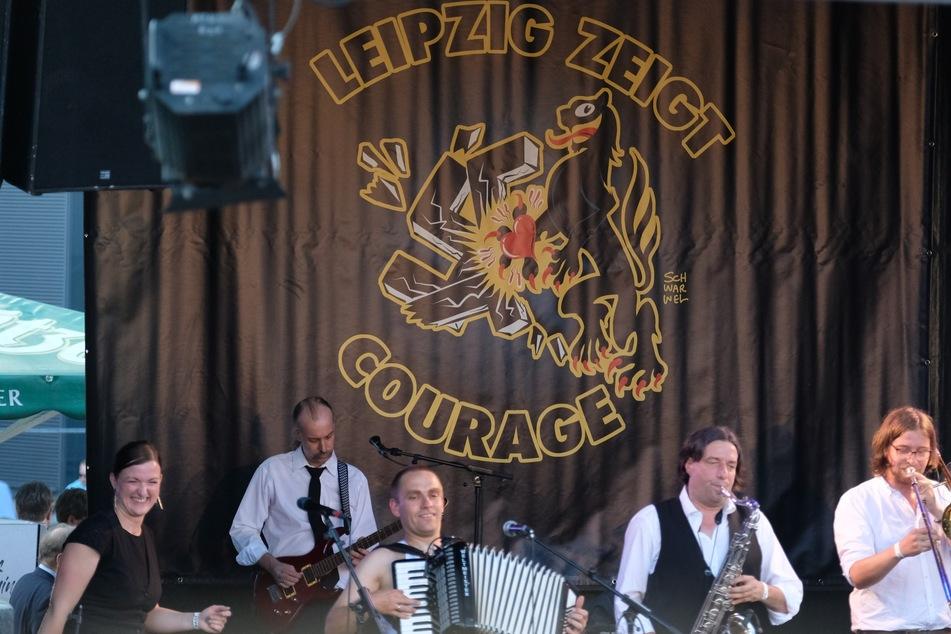 """Unter anderem trat am Freitag die Band """"Tetrête"""" auf dem Festival auf."""