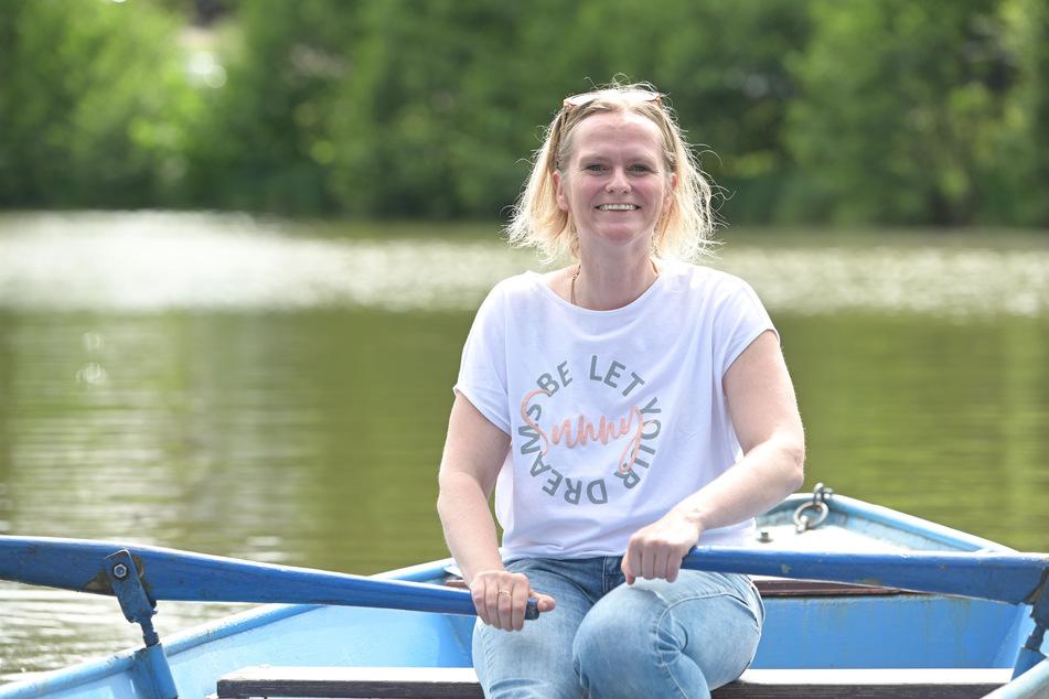 Claudia Paul (42) hatte den kreativen Einfall.