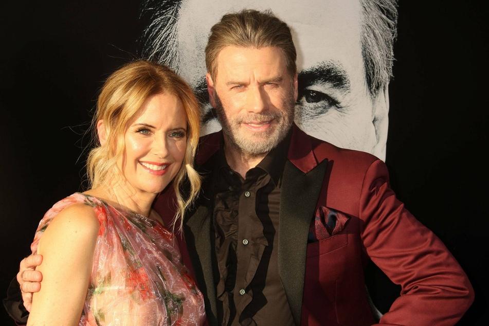 John Travolta's wife Kelly Preston died of cancer in July.