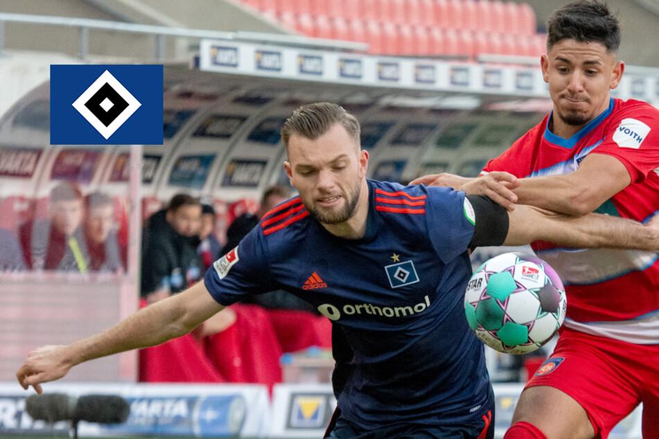 Heidenheim furios! Kühlwetter dreht mit Dreierpack 0:2 gegen den HSV