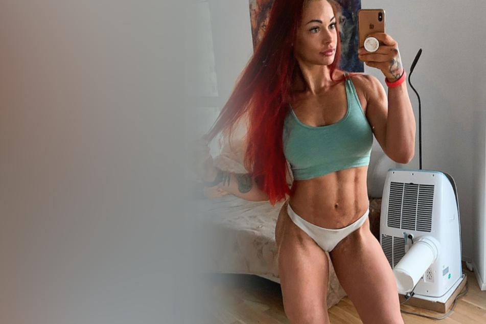 Fitness-Influencerin Lea zeigt sich in ihrem neuesten Post äußerst freizügig.