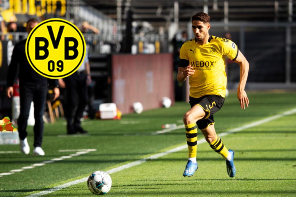 BVB-Star Achraf Hakimi soll Einigung mit europäischem Top-Klub erzielt haben!
