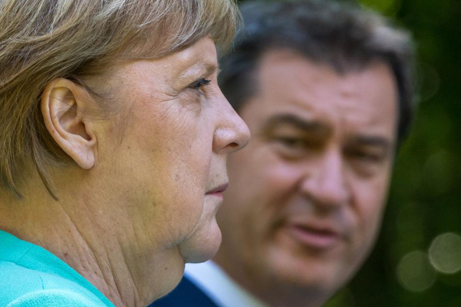 Kanzlerin Merkel (66, CDU) und Markus Söder (53, CSU) sind sich diesmal einig. Der Lockdown muss verlängert werden.