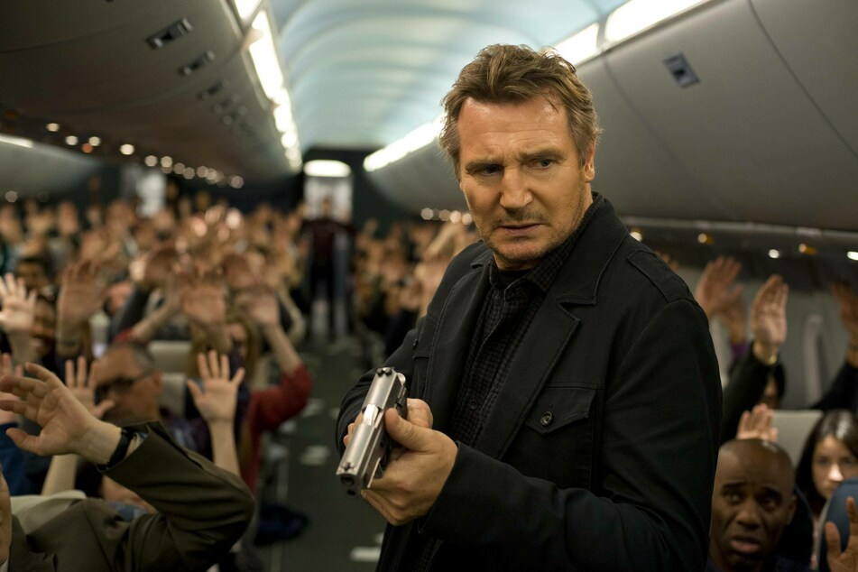 Liam Neeson starred as an air marshal in the action thriller Non-Stop (2014).