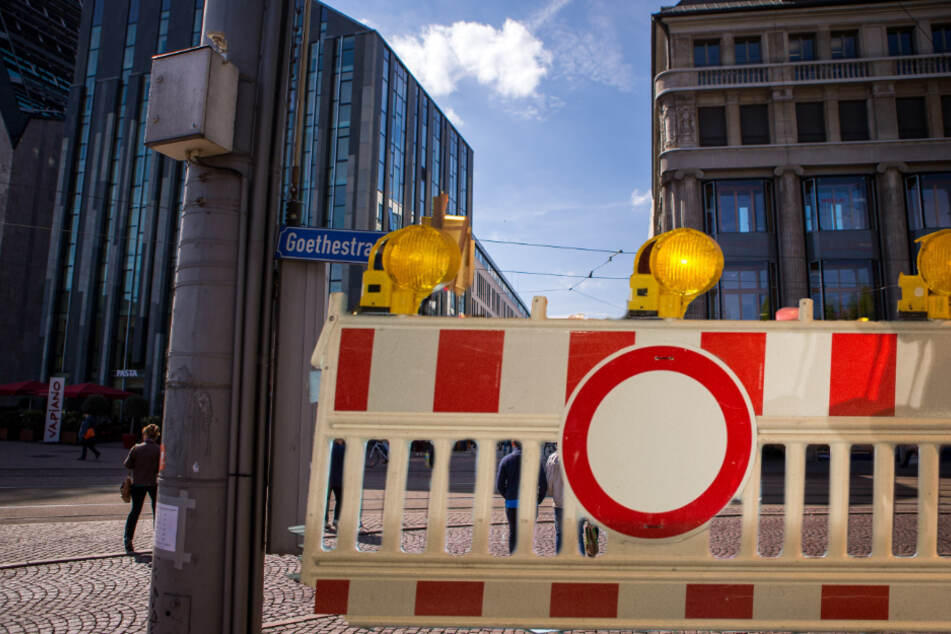 Die Demo läuft vom Leipziger Osten in die Innenstadt.