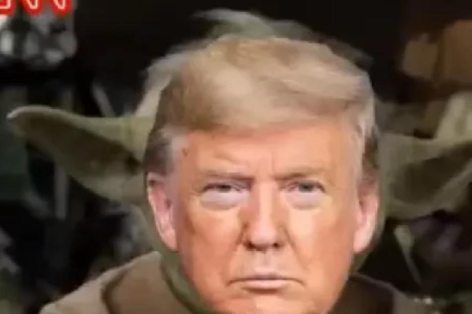 Bizarrer Twitter-Clip: Donald Trump gibt sich als Yoda aus