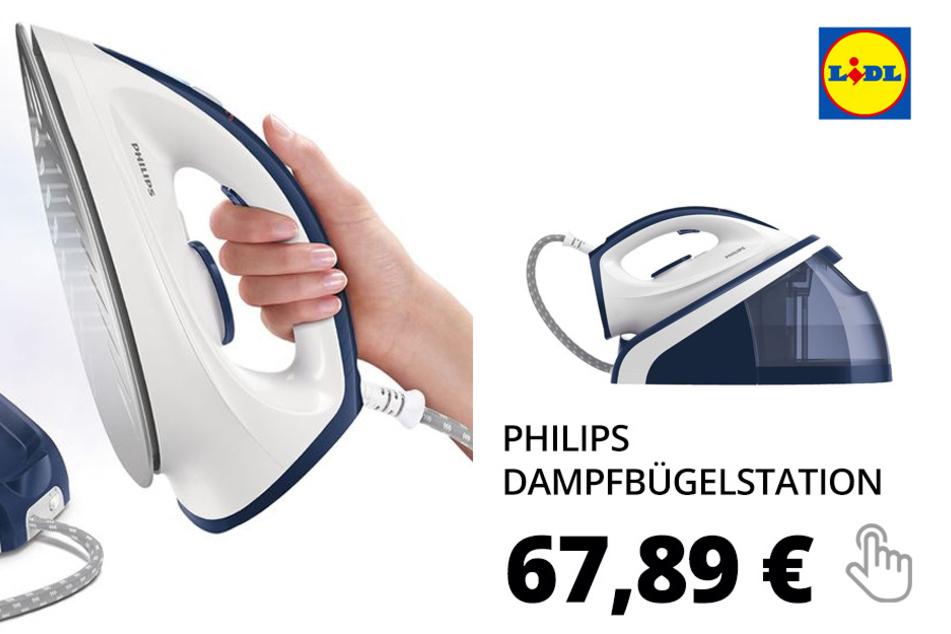"""PHILIPS Dampfbügelstation """"HI5918"""""""
