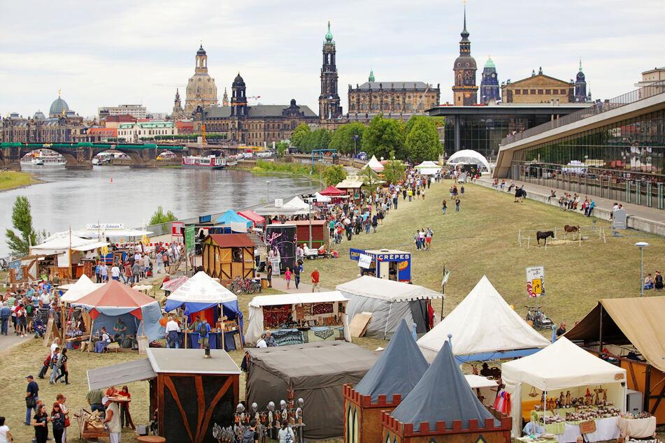 2019 fand das Stadtfest noch unbeschwert und ohne Corona-Hygieneregeln statt.