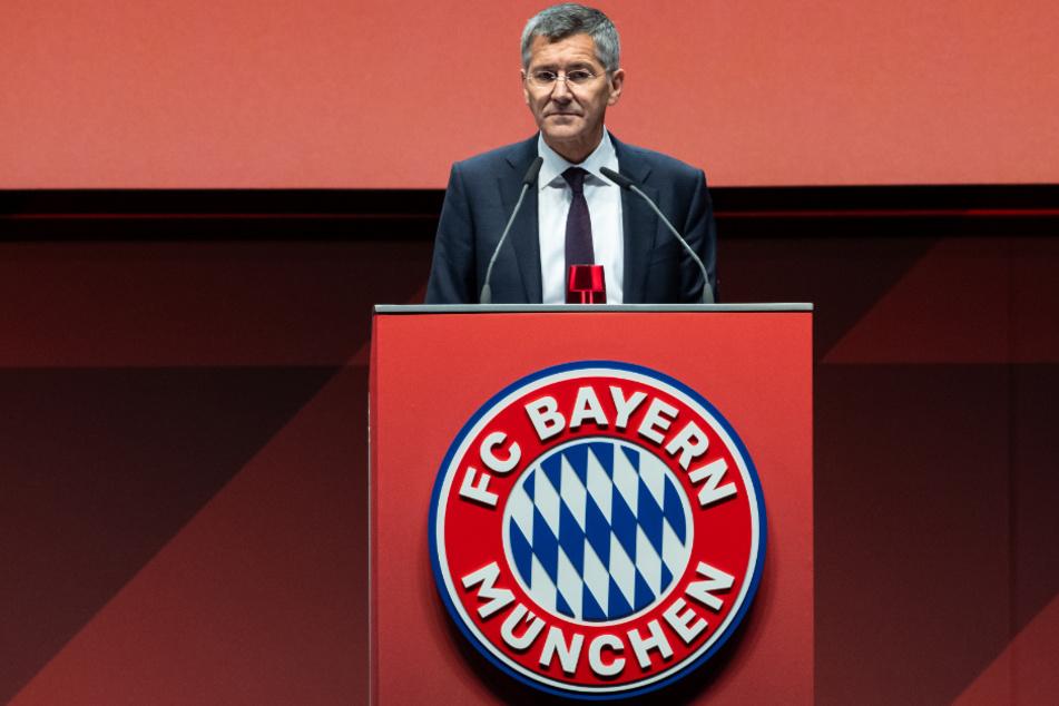 Herbert Hainer, Präsident des FC Bayern München.