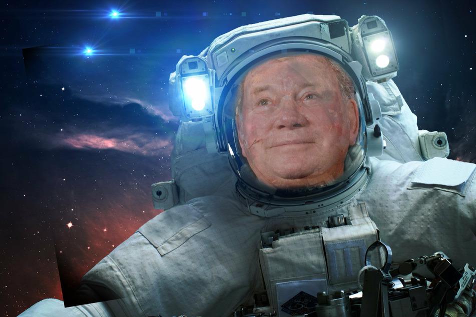Star Trek legend William Shatner is on his way to space!