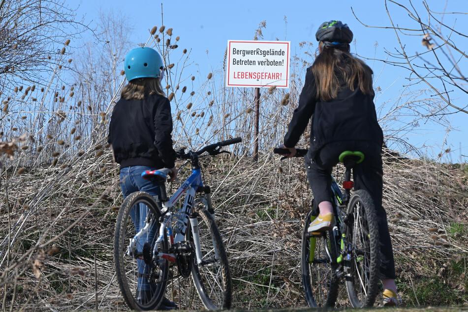 Ende Gelände für die Jugend: Ihr Fahrradparcours in der Rottluffer Lehmgrube ist gesperrt.