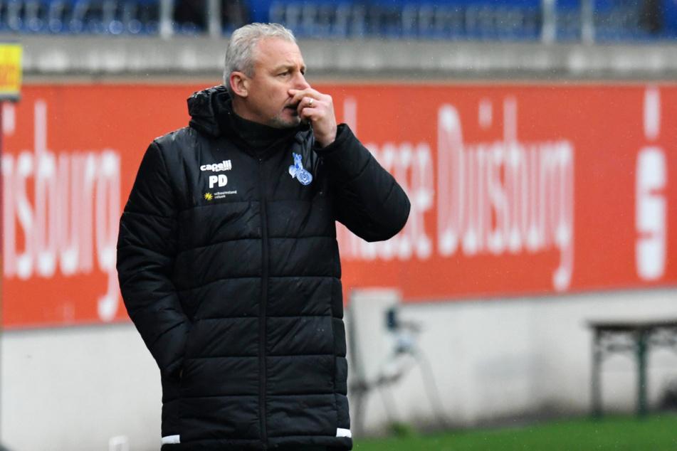 MSV-Trainer Pavel Dotchev (56) ärgerte sich über die Absage.