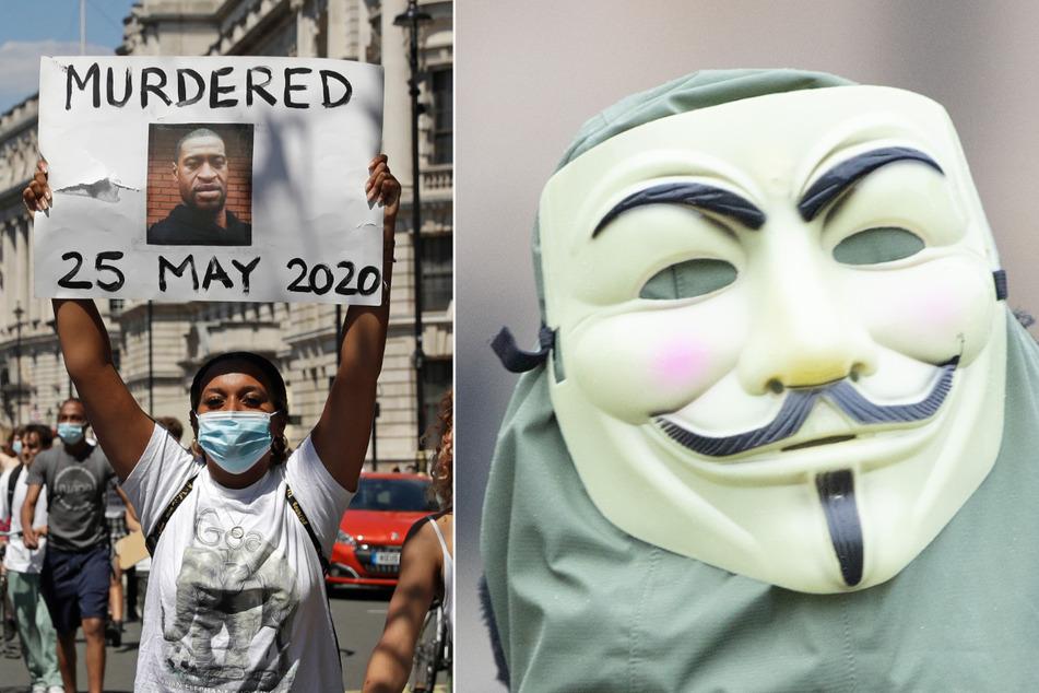 """Nach Tod von George Floyd: Anonymous hackt Radios der Polizei und spielt """"F*** The Police"""""""