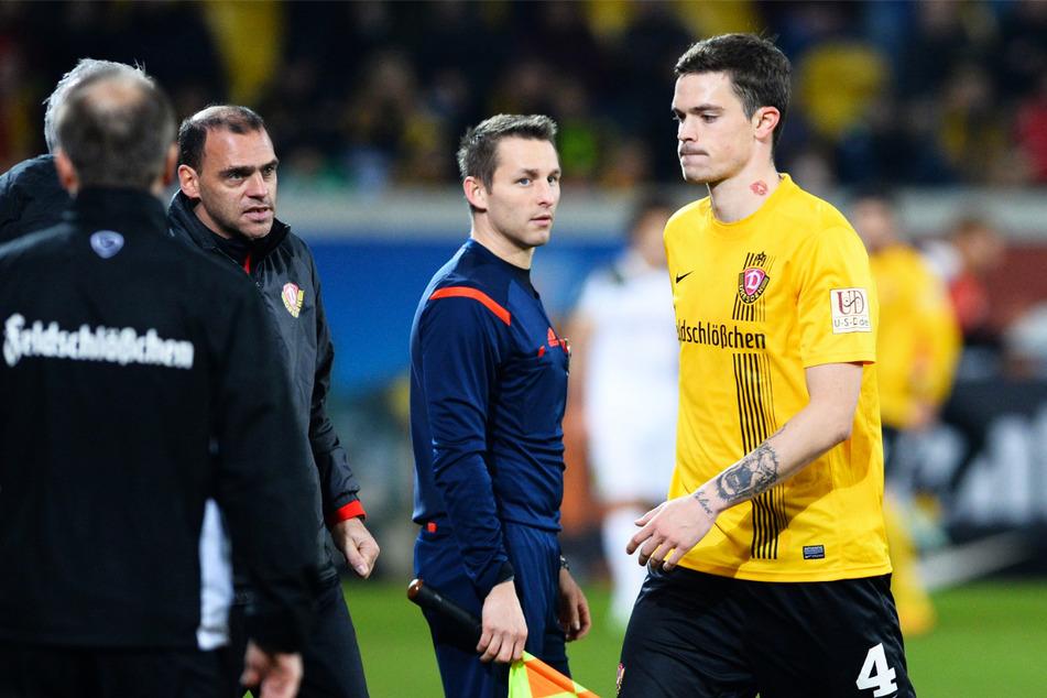 Ex-Dynamo Dennis Erdmann (30, r.) fehlt dem 1. FC Saarbrücken vorläufig.