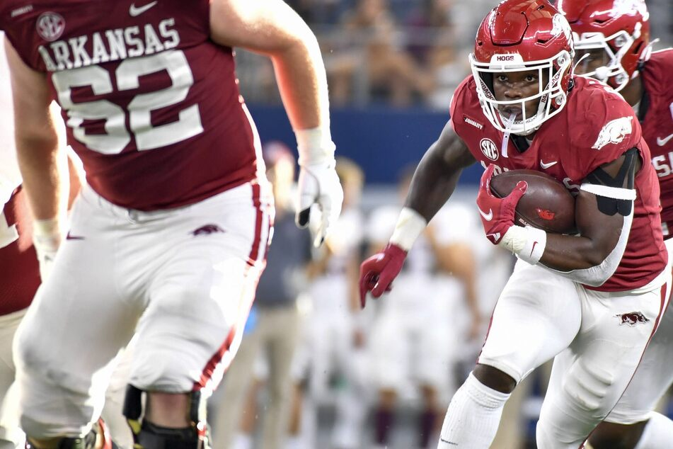 NCAA Football: The Razorbacks get the better of the Aggies to stay unbeaten this season
