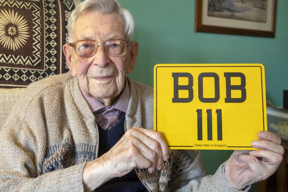 Bob Weighton an seinem 111. Geburtstag. (Archivbild)