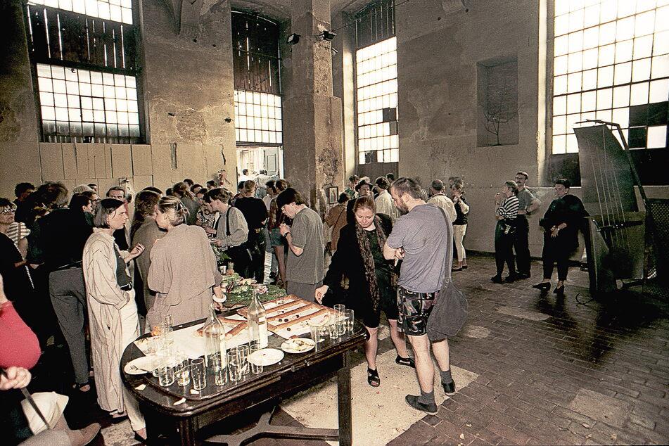 Die Eröffnungsfeier im Juni 1992.