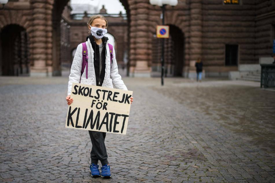 Climate activist Greta Thunberg (17).