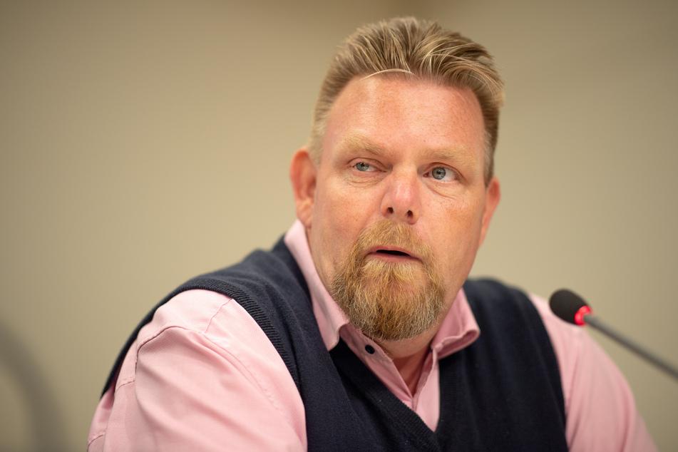 Lars Hünich, Landesgeschäftsführer der AfD Brandenburg.